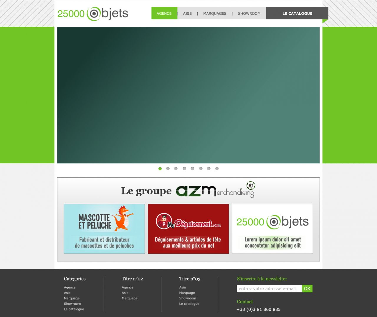 COMMUNICATION WEB : Templates, Bannières, Web Design... 9