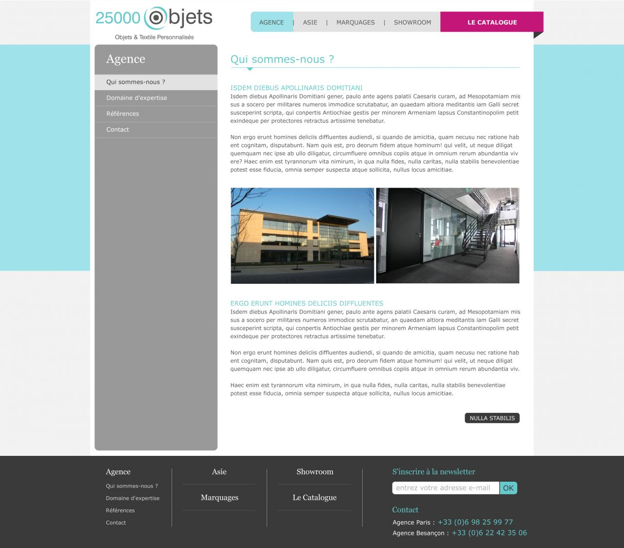 COMMUNICATION WEB : Templates, Bannières, Web Design... 12